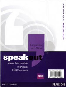 Speakout Upper Intermediate Workbook EText Access Card - 1st Student Manual/Study Guide