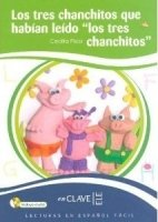 LECTURAS NINOS: LOS TRES CHANCHITOS + CD