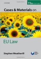 Cases & Materials On Eu Law 11th Ed.