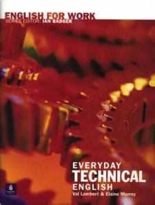 English For Work - Everyday Technical English Book/CD Pack CD and Book