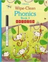 Wipe-Clean Phonics: Book 3