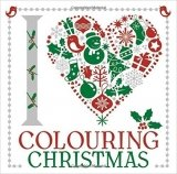 I Heart Colouring Christmas (Colouring Book)