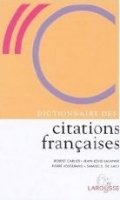 DICTIONAIRE DES CITATIONS FRANCAISES