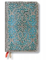 Paperblanks 2016 Maya Blue Mini 18 Horizontal Diary