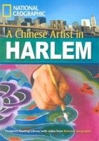 FOOTPRINT READERS LIBRARY Level 2200 - A CHINESE ARTIST IN HARLEM + MultiDVD Pack