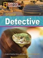 FOOTPRINT READERS LIBRARY Level 2600 - SNAKE DETECTIVE + MultiDVD Pack