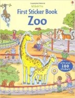 First Sticker Book Zoo (Usborne First Sticker Books)