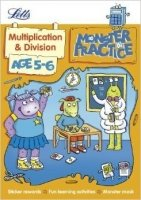 Multiplication and Division Age 5-6 (Letts Monster Practice)