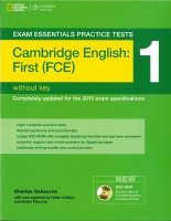 EXAM ESSENTIALS PRACTICE TESTS: CAMBRIDGE ENGLISH: FIRST (FCE) 1 with DVD-ROM without KEY