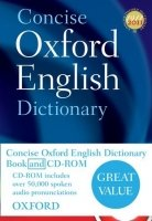 CONCISE OXFORD ENGLISH DICTIONARY 12th Edition with CD-ROM