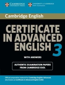 Cambridge CAE 3 for updated exam Student's Book with answers