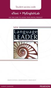 New Language Leader Upper Intermediate eText Coursebook with MyEnglishLab Pack