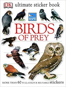 BIRDS OF PREY ULTIMATE STICKER BOOK