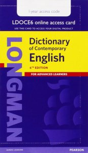 Longman Dictionary of Contemporary English 6 Single User Access Code 1-year Pin