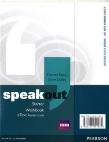 Speakout Starter Workbook EText Access Card - 1st Student Manual/Study Guide