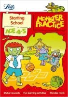 Starting School Age 4-5 (Letts Monster Practice)