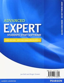 Expert Advanced 3rd Edition eText Students' Pin Card