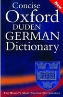 CONCISE OXFORD-DUDEN GERMAN DICTIONARY 3rd Edition