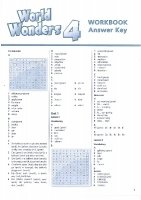 WORLD WONDERS 4 WORKBOOK WITH KEY