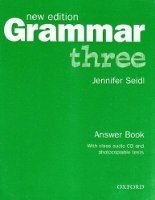 GRAMMAR THREE New Edition ANSWER BOOK AND AUDIO CD PACK
