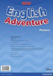 New English Adventure Starter A Posters