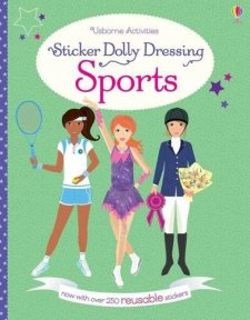 Sticker Dolly Dressing: Sports Girls (new Ed.)