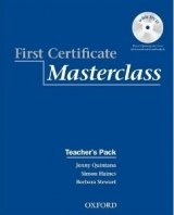FIRST CERTIFICATE MASTERCLASS TEACHER´S BOOK PACK