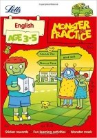 English Age 3-5 (Letts Monster Practice)