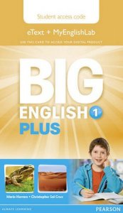 Big English Plus 1 Pupil's Etext and MyEnglishLab Access Card
