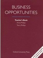 BUSINESS OPPORTUNITIES TEACHER´S BOOK