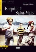 ENQUETE EN SAINT-MALO Livre + CD (Black Cat Readers FRA Level 3)