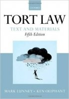 Tort Law: Text and Materials 5th Ed.