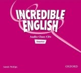 INCREDIBLE ENGLISH STARTER CLASS AUDIO CDs /2/
