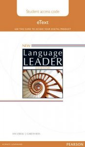 New Language Leader Elementary Student Etext Access Card