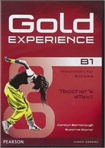 Gold Experience B1 Teacher's eText ActiveTeach Disc