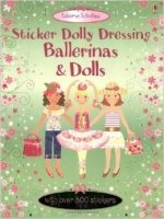 Dolls and Ballerinas (Usborne Sticker Dolly Dressing)