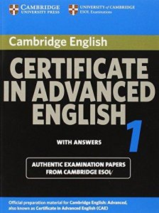 Cambridge CAE 1 for updated exam Student's Book with answers