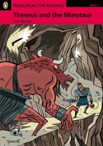 Theseus and the Minotaur Book and CD-ROM Pack - Level 1