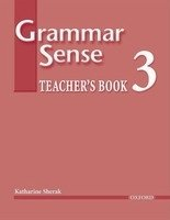 GRAMMAR SENSE 3 TEACHER´S BOOK + CD