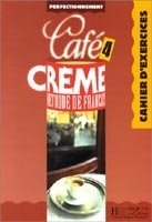 CAFE CREME 4 CAHIER D´EXERCICES