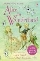 USBORNE YOUNG READING LEVEL 2: ALICE IN WONDERLAND + AUDIO CD PACK