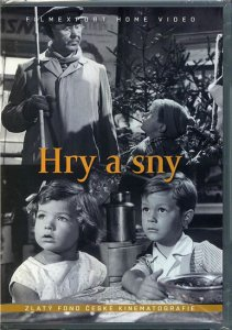 Hry a sny - DVD box