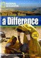 FOOTPRINT READERS LIBRARY Level 1300 - ONE VILLAGE MAKES A DIFFERENCE + MultiDVD Pack