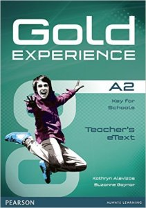 Gold Experience A2 Teacher's eText ActiveTeach Disc