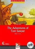 HELBLING READERS CLASSICS LEVEL 3 RED LINE - THE ADVENTURES OF TOM SAWYER + AUDIO CD PACK