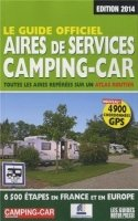 Le guide officiel Aires de services Camping-car 2014