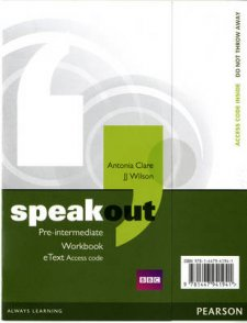 Speakout Pre-Intermediate Workbook EText Access Card - 1st Student Manual/Study Guide