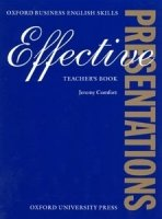 EFFECTIVE PRESENTATIONS TEACHER´S BOOK