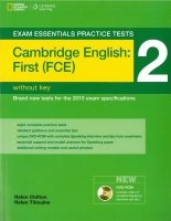 EXAM ESSENTIALS PRACTICE TESTS: CAMBRIDGE ENGLISH: FIRST (FCE) 2 with DVD-ROM without KEY