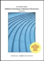 Statistical Techniques In Business And Economics, 16th ed.